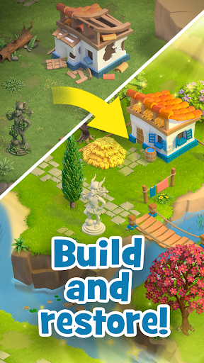 Land of Legends: Building games. Build your city apktram screenshots 4