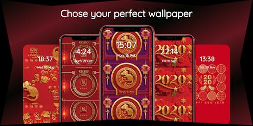 chinese new year 2020 wallpaper hd 🐁🎊🐀 screenshot 2