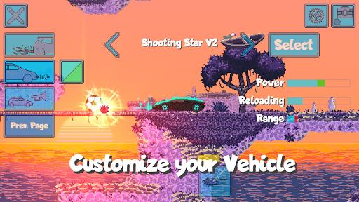 Pixel Boost League - 2D Rocket Powered Car Soccer 1.7.1 screenshots 10