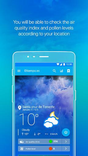 weather by eltiempo.es screenshot 1
