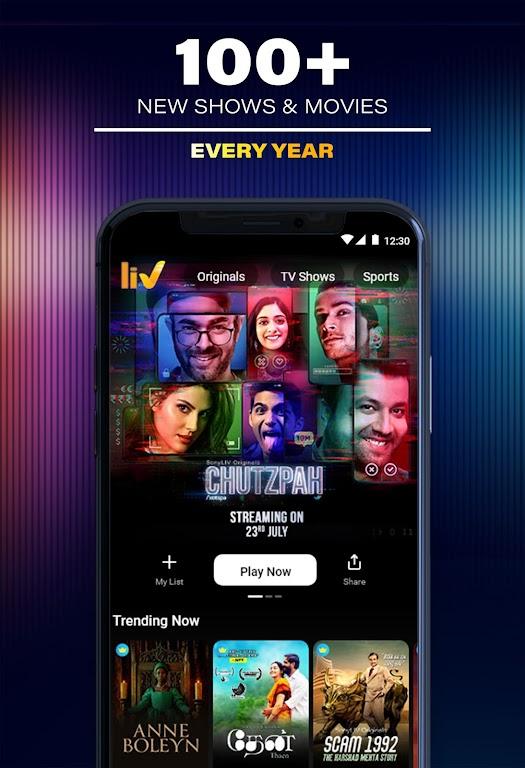 SonyLIV: Originals, Hollywood, LIVE Sport, TV Show poster 3