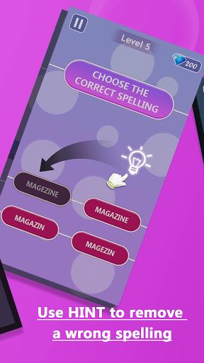 Word Spelling - English Spelling Challenge Game 1.0.3.79 screenshots 3