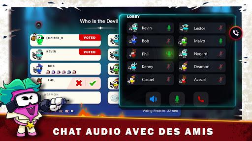 Code Triche Diable parmi nous + cache-cache avec chat vocal (Astuce) APK MOD screenshots 3