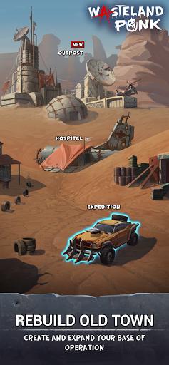 Wasteland Punk: Post Apocalypse RPG Survival Game  screenshots 1