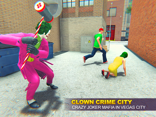 Grand Clown Crime City War: Gangster Crime Games modavailable screenshots 8