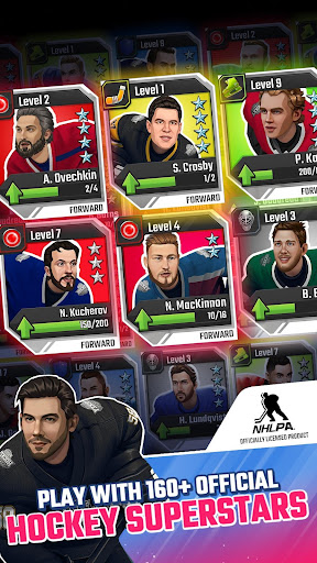 Puzzle Hockey - Official NHLPA Match 3 RPG 2.34.0 screenshots 2