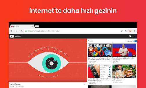 Brave Browser: Hızlı, güvenli tarayıcı ve arama 5