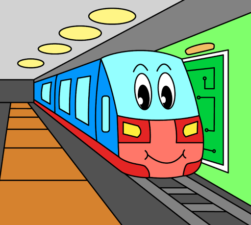 Coloring pages for children : transport 1.1.9 screenshots 3