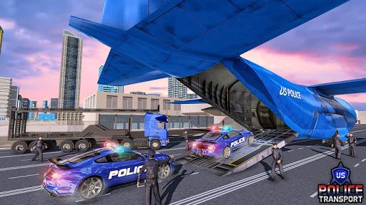 US Police Robot Transform - Police Plane Transport  screenshots 12