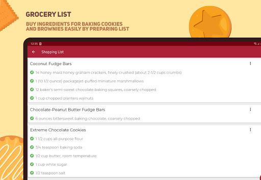 Cookies And Brownies Recipes  Screenshots 13