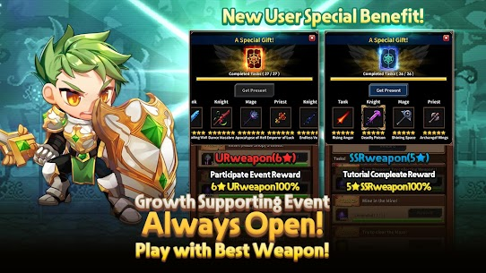 Free Weapon Heroes   Infinity Forge(Idle RPG) 1