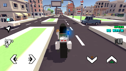 Blocky Moto Racing - motorcycle rider 1.30 screenshots 6