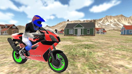real moto bike racing- police cars chase game 2019  screenshots 8