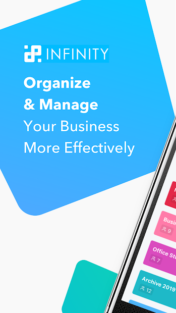 Captura 2 de Infinity — Organize anything, your way. para android