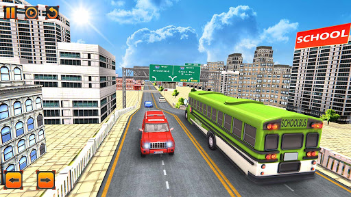 City School Bus Game 3D apklade screenshots 2