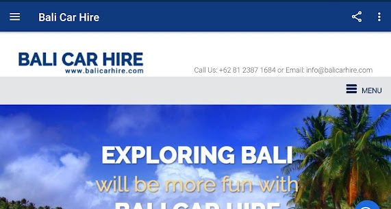 Bali Car Hire For Pc – Free Download In Windows 7/8/10 4
