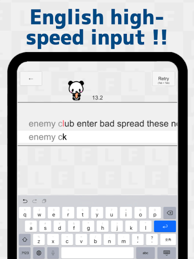 Flick Typing input practice app 1.134.0 screenshots 9