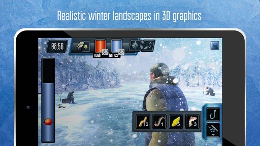 Ice fishing games for free. Fisherman simulator. 1.2004 screenshots 8