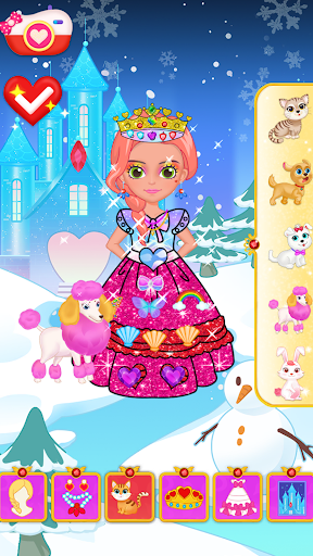Princess Makeup Dress Design Game for girls goodtube screenshots 1