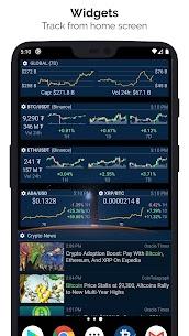Crypto App Pro MOD APK – Widgets, Alerts, News, Bitcoin Prices 5
