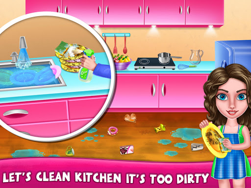 House Cleanup : Girl Home Cleaning Games 3.9.1 screenshots 16