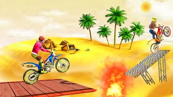 Real motorcycle Racing Game-New Stunt Driving Game