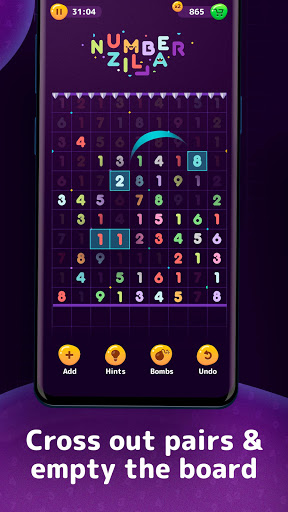 Numberzilla - Number Puzzle | Board Game 3.5.1.0 screenshots 3
