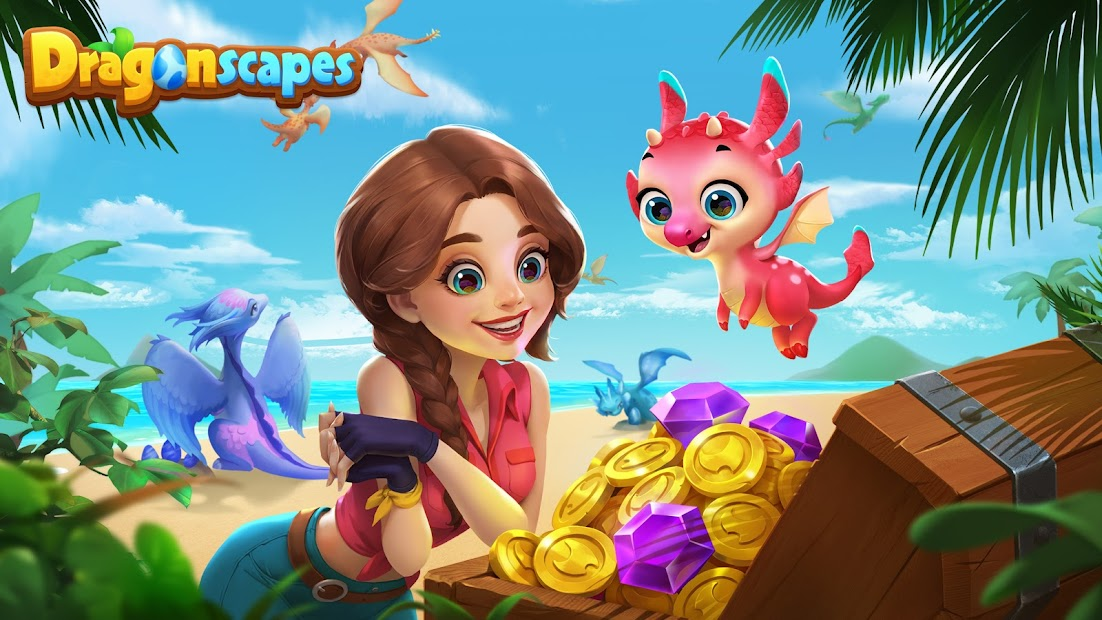 Dragonscapes Adventure Android App Screenshot