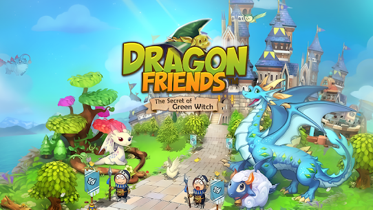 Dragon Friends : Green Witch [MOD Version] 1