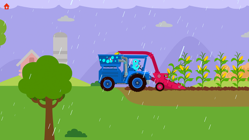 Dinosaur Farm - Tractor simulator games for kids screenshots 3