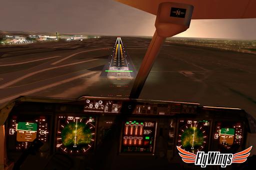 Flight Simulator 2015 FlyWings Free 2.2.0 screenshots 2