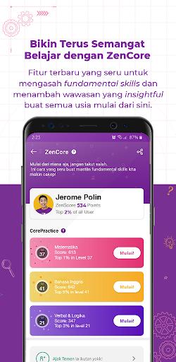 Zenius - Belajar Online Seru   UTBK, UM, PTS, PAS apktram screenshots 6