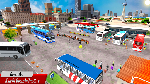 Super Coach Driving 2021 : Bus Free Games 2021 screenshots 2