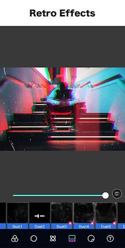 Glitch Photo Editor - Glitch Video, VHS, Vaporwave 1.4.5 Screenshots 8