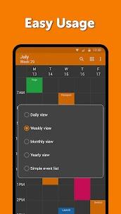 Free Simple Calendar Pro – Agenda  Schedule Planner 2