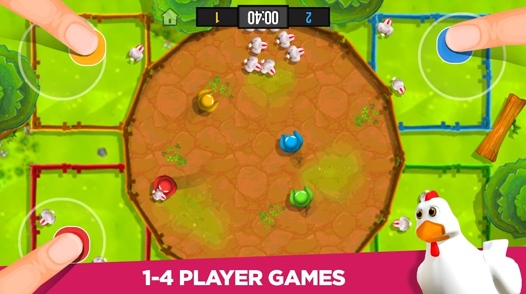 Stickman Party: 1 2 3 4 Player Games Free poster 10