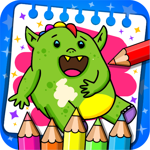 Fantasy - Coloring Book & Games for Kids
