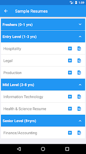 Resume Builder Free, CV Maker & Resume Templates