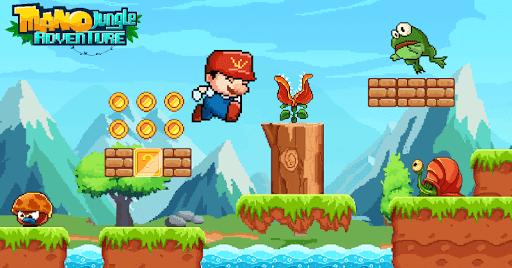 Mano Jungle Adventure: Classic 2020 Arcade Game apktreat screenshots 1