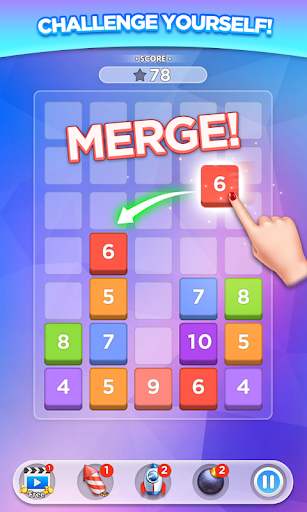 Merge Number Puzzle 2.0.5 screenshots 1