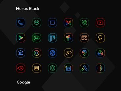 Horux Black APK- Icon Pack (PAID) Download Latest Version 8