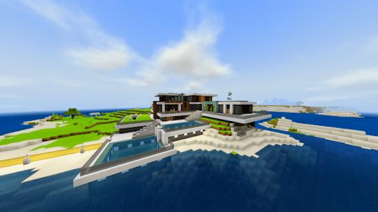 Modern Houses For Minecraft PE 2021 Apkfinish screenshots 3