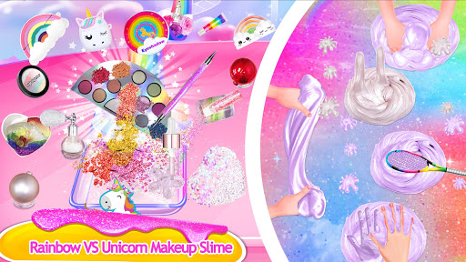 Makeup Slime - Fluffy Rainbow Slime Simulator 1.6.1 screenshots 5