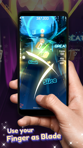 Dancing Blade: Slicing EDM Rhythm Game 1.2.5 Screenshots 5