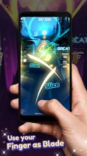 Dancing Blade: Slicing EDM Rhythm Game 1.2.5 Screenshots 9