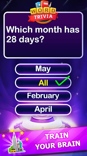 Word Trivia - Free Trivia Quiz & Puzzle Word Games 2.4 screenshots 3
