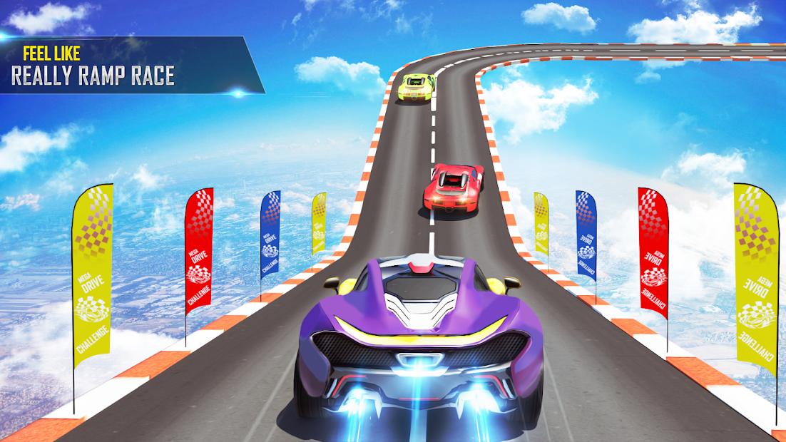 Mega Ramp Car Stunts Racing 2 screenshot 7