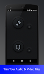 screenshot of video audio cutter