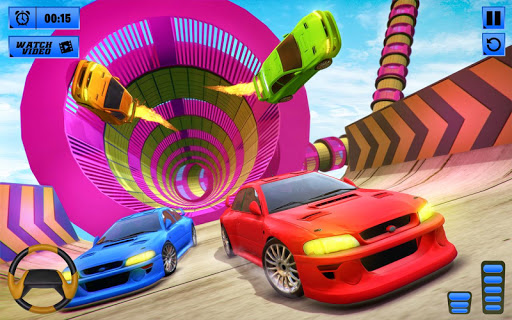 Impossible Stunts Car Racing Games: Spiral Tracks apklade screenshots 1