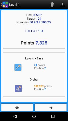 Numbers Game! 6 Countdown Math apkdebit screenshots 4